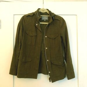 Madewell New Haven Supply - Army Green Jacket - XS